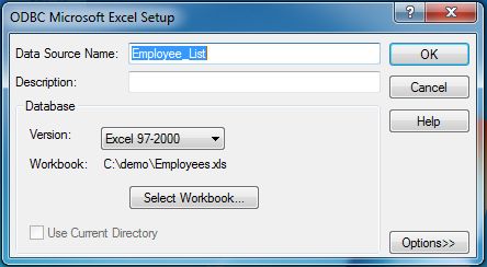 Using Excel As A Reporting Services Datasource | WebbTech